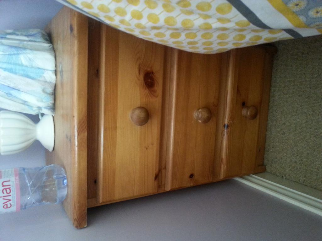 Bedside cabinets with drawers