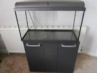 Interpet Aquaverse 110ltr aquarium and cabinet