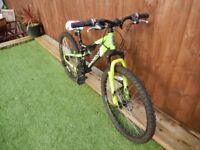 """Mountain Bike - 14"""" Hybrid Frame - Apollo Gradient"""