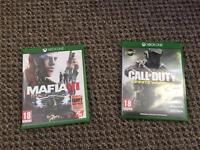 Mafia 3 & call of duty infinite warfare Xbox one £20 each