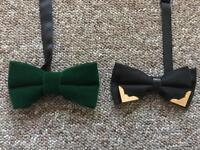 Unisex bow ties