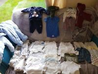 Big bundle boys newborn clothes