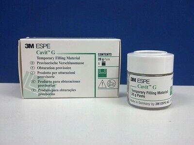 3M Cavit G 28 Gram Jar Gray Temporary Filling Material Dental