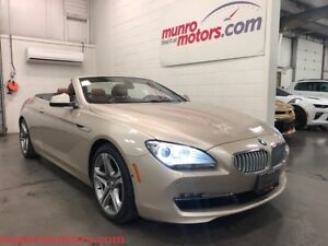 2012 BMW 650 i Cabriolet Low Kms Executive Package