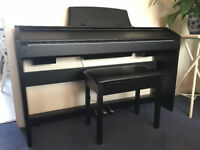 Casio Privia PX-760 Keyboard, 88 keys. Comes with Piano Stool and Headphones, Excellent Condition