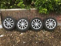 Honda Civic 2012 wheels and tyres £250 offer welcome may swap so text me what you got