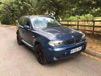 2005 BMW X3 2,0 litre diesel 5dr 12 months mot