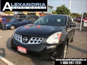 2012 Nissan Rogue S safety included