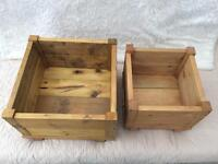 Solid Wood Handmade Planters
