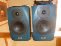 TANNOY ACTIVE REVEAL STUDIO MONITORS (AS NEW)