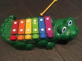 Fisher Price xylophone crocodile