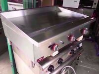 FASTFOOD COMMERCIAL NEW BBQ 90CM FLAT GRILL CATERING MACHINE RESTAURANT OUTDOORS SHOP MEAT TAKEAWAY