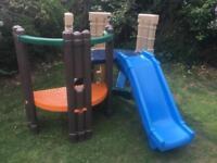 Little tikes slide climber castle outdoor