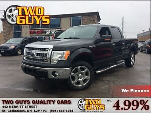2014 Ford F-150 XLT 4x4 20 INCH CHROME MAGS V-8 ENGINE
