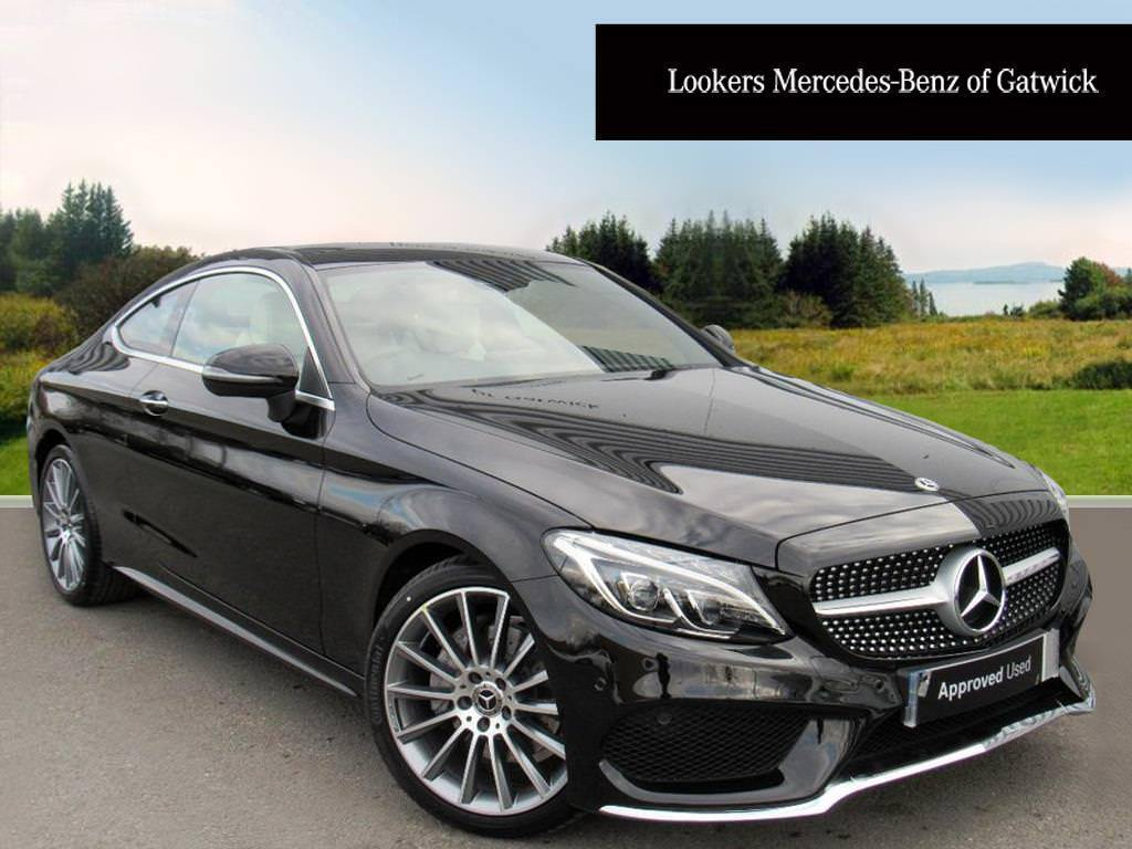 mercedes benz c class c 220 d amg line premium plus black. Black Bedroom Furniture Sets. Home Design Ideas
