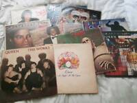 Michael jackson Lps and singles, queen lps