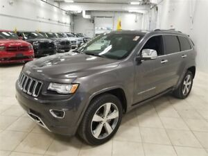 2015 Jeep Grand Cherokee Overland *TOIT, GPS, AWD, TECH PACK, CA
