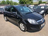 VAUXHALL ZAFIRA 1.9 CDTI AUTOMATIC 7 SEATER 2010 /ONE OWNER /FDSH /TIMING BELT DONE /LONG MOT /2KEYS