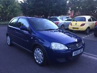 Vauxhall Corsa 2005 Design 1.2L Petrol 3dr. LOW MILEAGE. Excellent condition