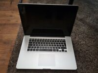 "Apple Macbook Pro 15"" 2012 i7 Quad Core 2.3-3.3GHz,16GB RAM,2 GB Dual Graphics,127 Cycles,500GB HDD"