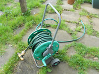 30m Garden Hose on Trolley Reel, Hosepipe