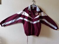 HEARTS * ADMIRAL* TRACKSUIT -- NEW -- ( NEVER WORN) Adult Size - 36/38 Inches BARGAIN PRICE