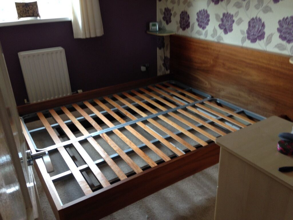Ikea King Size Floating Bed In Coventry West Midlands