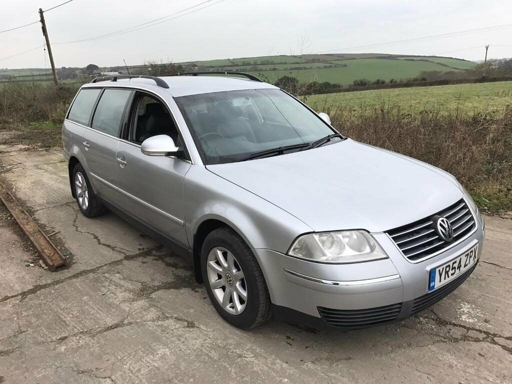 volkswagen passat highline 1 9 tdi 130 estate silver 2004. Black Bedroom Furniture Sets. Home Design Ideas