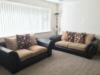 DFS Leather and Fabric Sofas
