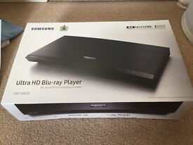 Samsung UBD-K8500 4K UHD Blu-Ray Player, Black