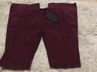 Amazing Designer Victoria Beckham Trousers Brand New with tags