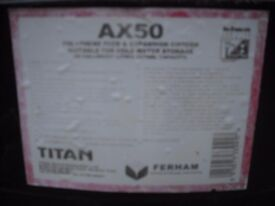 Titan 50 gallon water tank.
