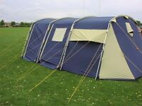 Campus 6 man tent in good condition