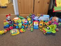 assortment of baby toys/books - Picture failing upload, please contact for picture.