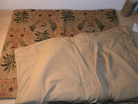 Deluxe Double Bedding Quilted throw set