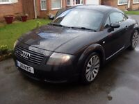 Audi TT , 180BHP , Private Reg , Full Service, New Cambelt, Cylinder Head ,etc Excellent Condition