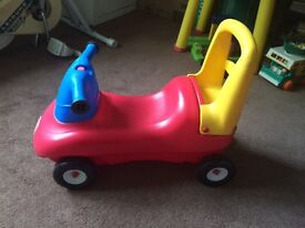 Little Tikes Ride-on/Push along toy