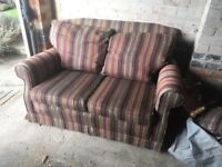 Sofa oak frame - perfect for up cycle project 2 seater