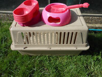 PET CARRIER BOWLS AND SCOOP