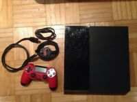 Sony PS 4 play station 4 Black with games