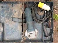 Bosch 110mm angle grinder 110v