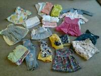 Baby girl summer clothes bundle 3-6 months
