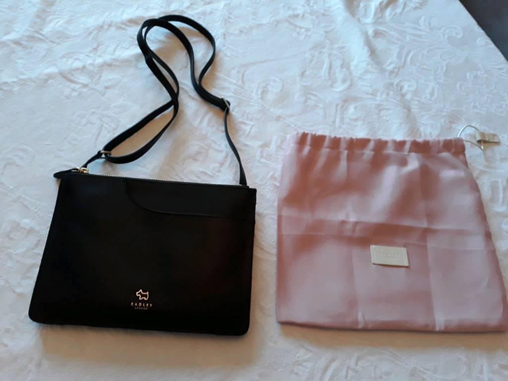 Radley London Black medium pocket crossbody bag  c1a5c21c9e21f