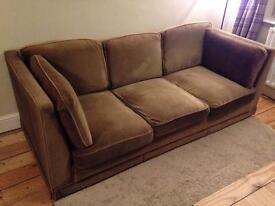 Vintage sofa - light brown