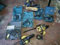 Various tools all spares and repairs