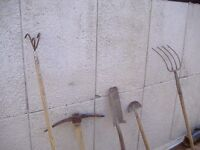 garden tools mostly spear/jackson some new