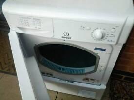 Indesit condensing tumble dryer as new