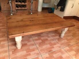 A very loved coffee table