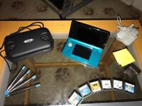 Nintendo 3DS great condition working as NEW with £40+ FREE extras!