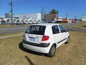 2008 Hyundai Getz 5 Door Hatchback 1.6L SX Auto $4199 Beckenham Gosnells Area Preview